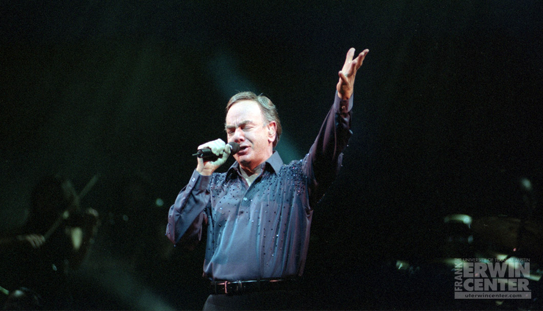 ON THIS DAY: @NeilDiamond brought the hits to the @ErwinCenter in 2002! 🎤 #WBW #WayBackWednesday #OnThisDay