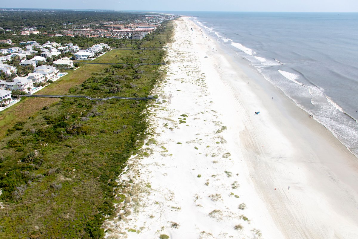 It's always fun to see #StAugustineBeach from a new perspective! This bird's eye view really puts into perspective how beautiful #StAugustine #Beach truly is. #Florida #FloridaBeaches #NorthFlorida #StJohnsCounty #realestate #Floridarealestate #homesweethomepic.twitter.com/8SvEltchyS