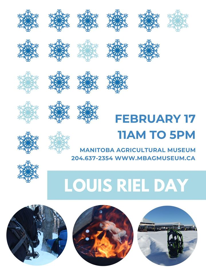 Spend #LouisRielDay @mbagmuseum #Austin #MB All day - outdoor activities on Feb 17, 2020 Travel through the Village on a horse-drawn sleigh (weather permitting), enjoy #winter outdoor activities & warm up with #hotchocolate around the bonfire! https://www.tourismwestman.ca/event/louis-riel-day-at-mb-ag-museum/ … #westman pic.twitter.com/g37aJ5Jk2F
