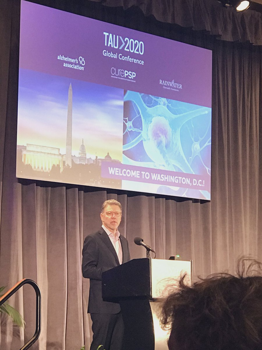 .@alzassociation President & CEO Harry Johns joins @pjbrannelly @RCFNeuro @CurePSP to open #Tau2020