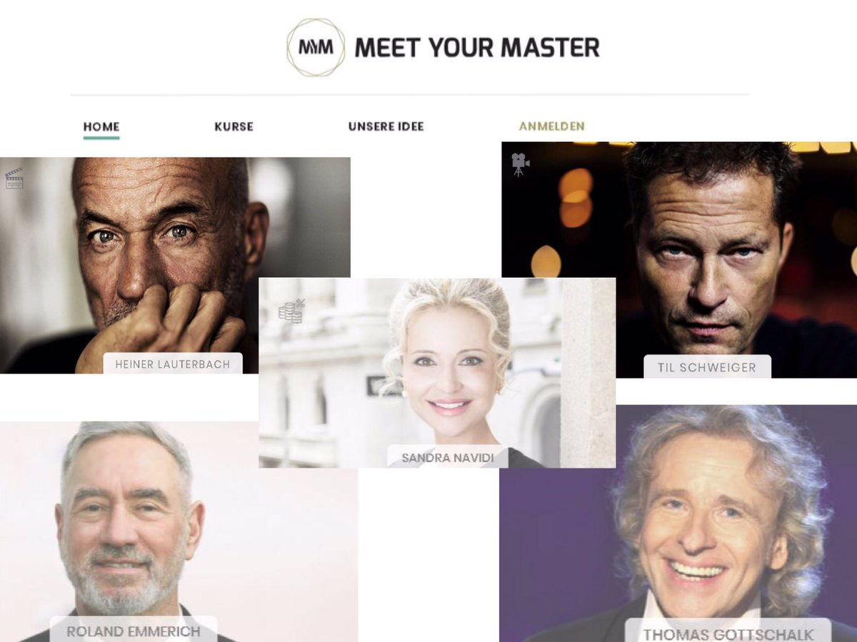 Very excited to participate in #MeetYourMaster #MYM along with stars such as #HeinerLauterbach @rolandemmerich @TilSchweiger #ThomasGottschalk @herbstblond among others.  Working with the writer on the script, with filming to begin next month https://www.meetyourmaster.de/de #SuperHubspic.twitter.com/5vCRF39QDZ