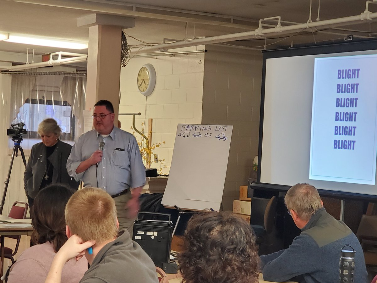 Last evening, I joined over 125 attendees at the Shamokin Community Public Workshop along with @joinkurtmasser