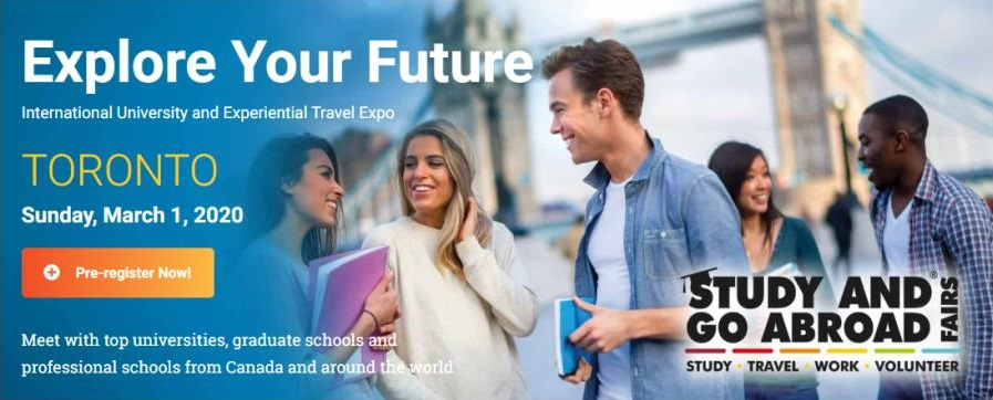 """DAAD will be at the """"Study in Germany"""" booth at the Study and Go Abroad Fair in Toronto on Sunday, March 1st. Join us to learn more about DAAD's scholarships & grants and what German universities have to offer degree seeking students. Details: http://ow.ly/uzUU50yc6VR"""