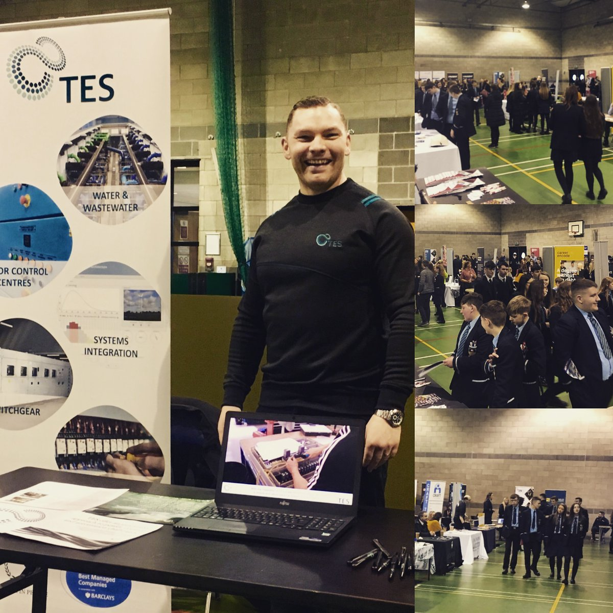 test Twitter Media - TES were delighted to attend the Cookstown High School and Holy Trinity College 2020 Careers Convention to help Year 10-13 students gain better insight into career options for the future. Very well attended and great to meet the Engineers of tomorrow! https://t.co/5sasmSlPVx