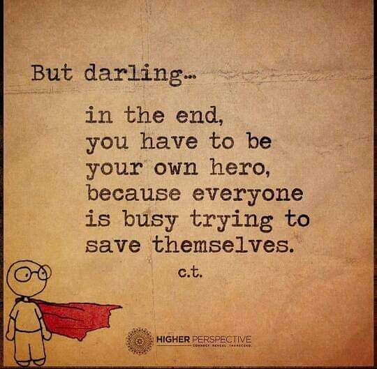 Be your own hero!!! *I stole this from another page.  #beyourownhero #hero  #womanstrong #lifeisbusy  #doyourthing #loveyourself #psychochick #psychochickbook https://ift.tt/2tQFkU6pic.twitter.com/LYnIdscAlG