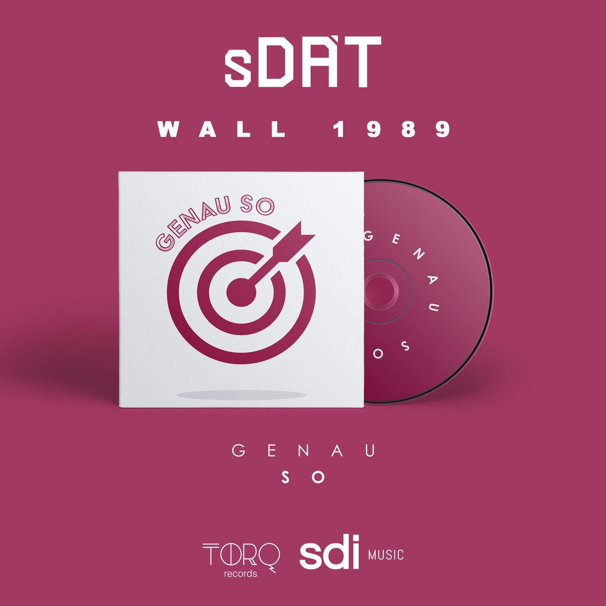 Wall 1989 by Sdat, is on the Genau So Compilation and the genre of the track is techno.  #berlin #deutschland #berlinwall #berlinmusic #technomusic #night #life #recordlabel #subculture #track #newtrack #wave #street #electro #electroclash #eurodance #drummachine #audiopic.twitter.com/wAavaLUr2Z