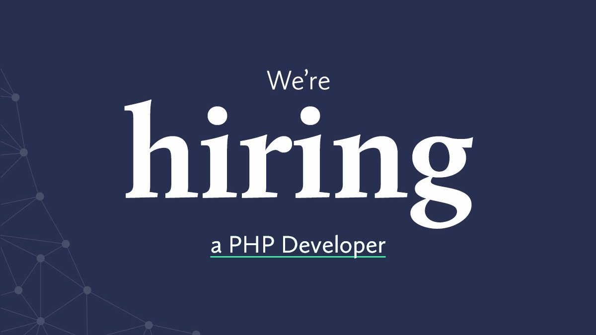 We're looking for a #PHP developer to join our @Drupal development team.   Want to develop your skills and work for high-profile clients? Apply now: http://bit.ly/RedwebPHPDev