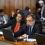 Image for the Tweet beginning: Relatei na CDH do Senado