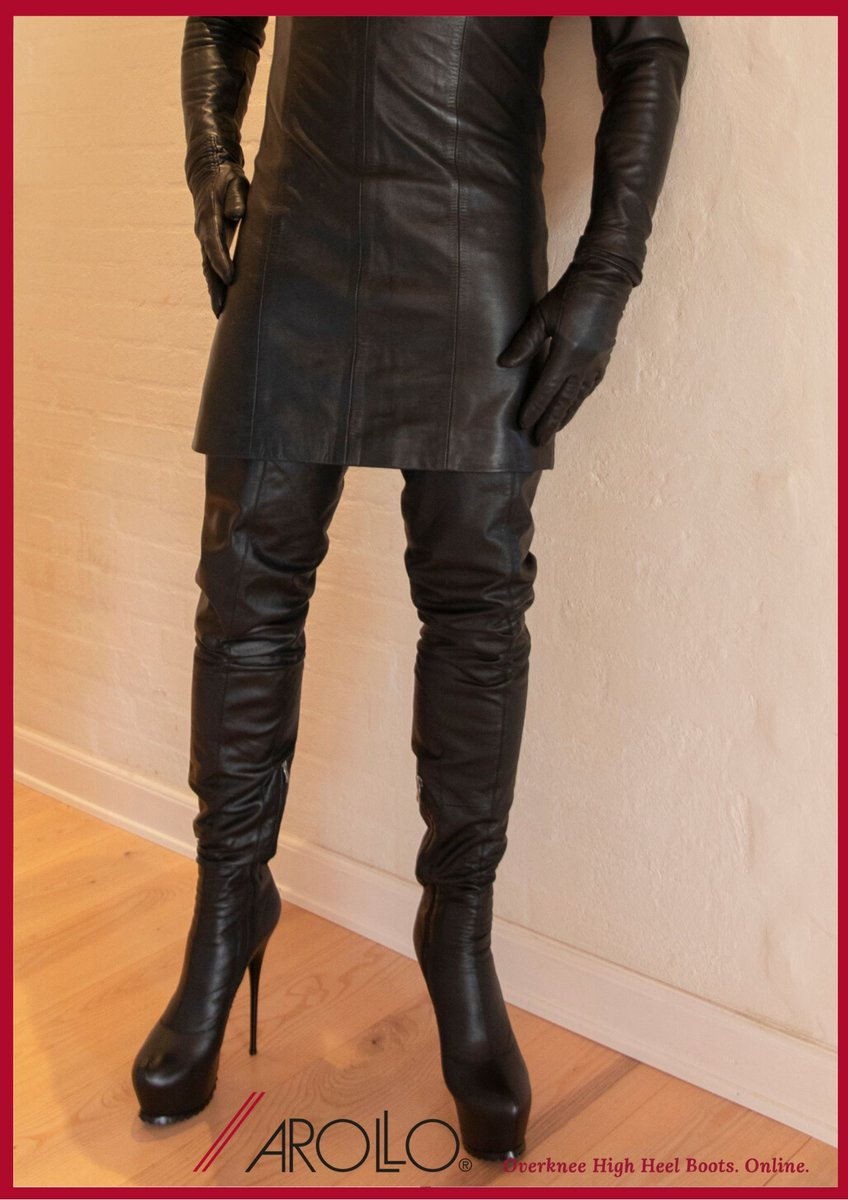 AROLLO Thigh High Boots for men