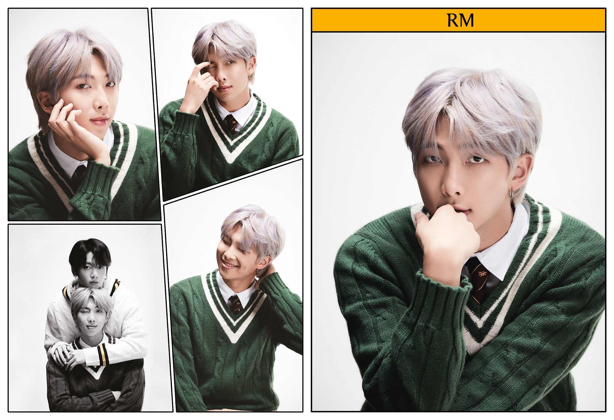 RM BTS Rilis Konsep Foto Keempat untuk Album Map of The Soul: 7 - Definition of Happiness and Youth © Big Hit Entertainment