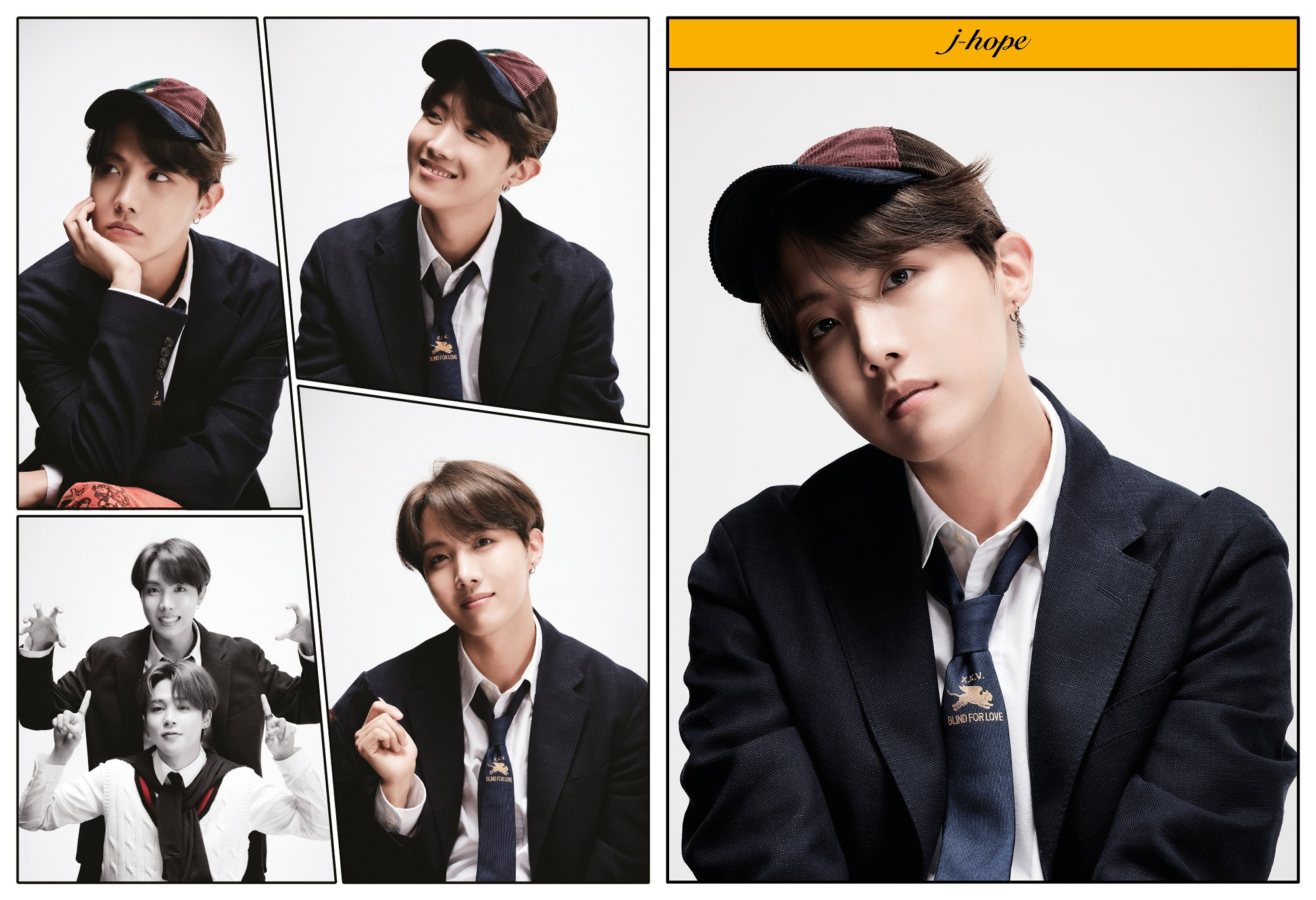 J-Hope BTS Rilis Konsep Foto Keempat untuk Album Map of The Soul: 7 - Definition of Happiness and Youth © Big Hit Entertainment