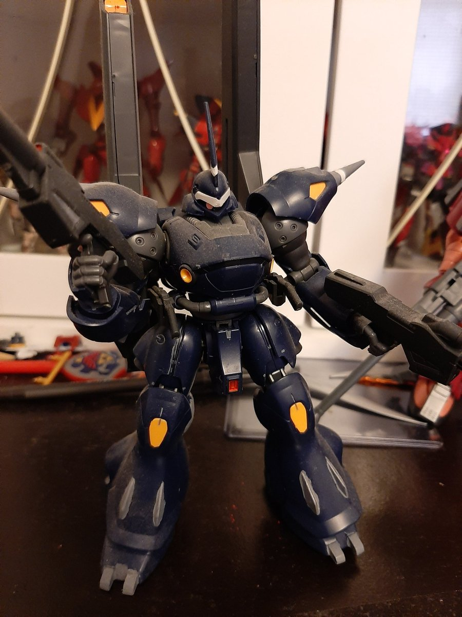 Since am going back and working on some of my older builds next up is the one and only kampfer amazing going to dust off all the dust clean up the nub Mark's and do some color correcting work <br>http://pic.twitter.com/e1PZCZEDmE