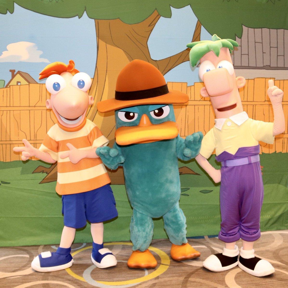 Today's gonna be a great day! #AgentP #Phineas #Ferb #PhineasandFerb #Perry #PerrythePlatypus #DisneyChannel #WDW #WaltDisneyWorldpic.twitter.com/ubreEMUxZi