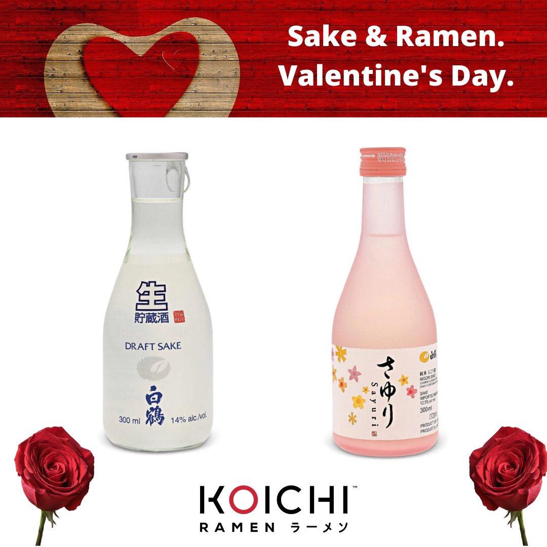 Starting this Valentine's Day, we will be serving Cold Sake.  Come on in to enjoy Sake with your favourite bowl of ramen!  https://t.co/vR2IzNGMKk  #koichiramen #ottawa #ottawaeats #ramen #japanesefood #algonquincollege #ottawauniversity #carltonuniversity https://t.co/QcoL1M5gKr
