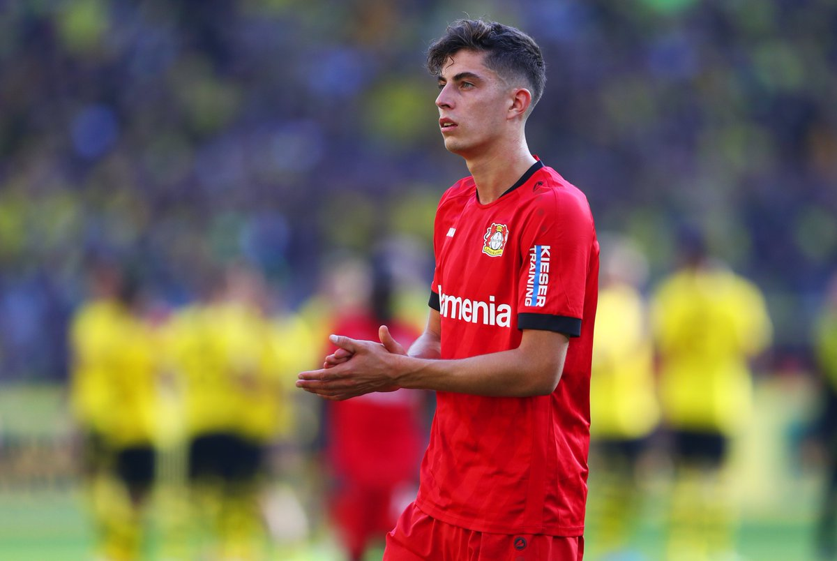 💫 Kai Havertz 💫  Who does he remind you of?   #UEL https://t.co/1BfXwCZ876