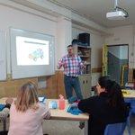 Tarde de #RobóticaEdelvives en el colegio San Agustín de Granada  #ColegiosDiocesanos @EdelvivesPRO @Edelvives #LEGO