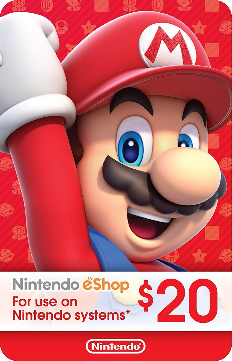 I'm doing an EPIC Eshop card give away Follow me! and Retweet! to enter the giveaway!