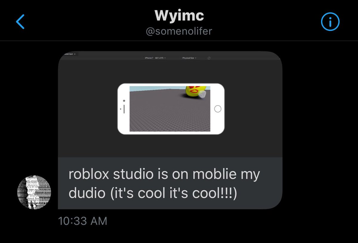 News Roblox On Twitter The Roblox Studio Is Coming To The Mobile