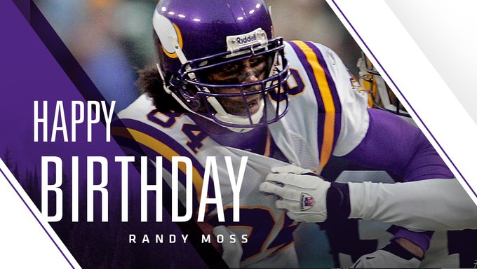 Happy birthday from the UK to the GOAT  Comment below with your favourite Randy Moss GIF
