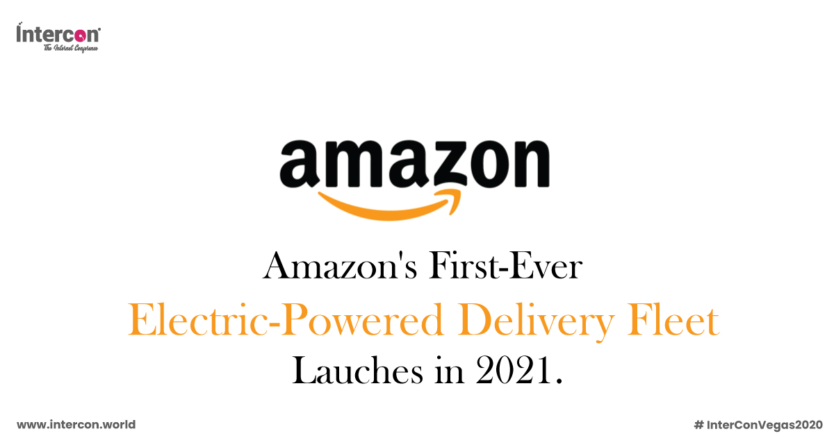 """""""Amazon is pushing 100,000 electric-powered delivery vans, due to hit the road in 2021."""" Read more at: https://bit.ly/2HjSLiG #Amazon #AmazonNews #ElectricDeliveryVehicle #TechUpdates #LatestTechNews #Technology #FutureofTechnology #IoT #Innovation #Tech #Fintechpic.twitter.com/KBYUdDG9Sb"""