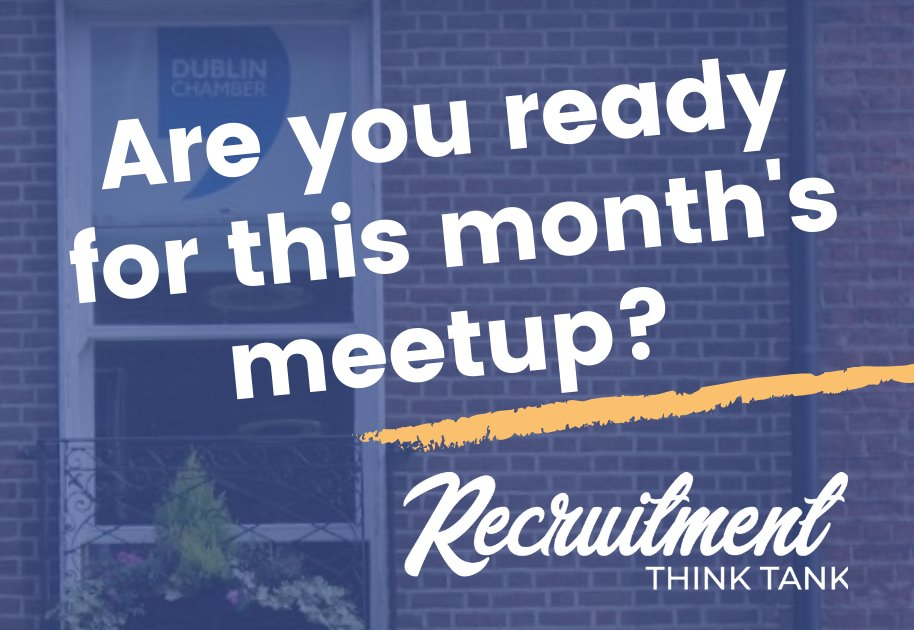 Our next meetup will take place on the 26th of February in @DubCham and the topic, The Art and Science of Attracting Talent.   18:00 - 20:00   Dublin Chamber of Commerce, 7 Clare St, Dublin 2  More information: https://lnkd.in/ddwajvs   #recruitmentconsultants #eventpic.twitter.com/BLWg8C3QGD