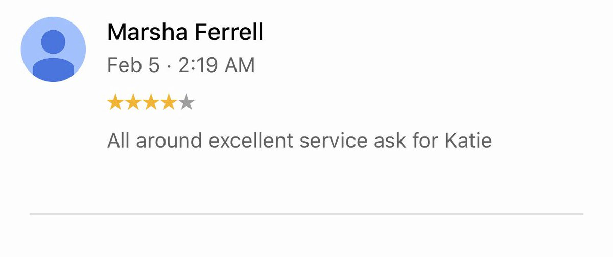 Reviews don't lie!  Thanks for the shoutout!  Ask for Katie  406-272-0070 Book with Katie herehttps://go.booker.com/Studio406salon  #Salon #Hair #Hairsalon #Reviews #406salon #406Hair #HairofBillings #Studio406salon #Selfcare #Youday #Haircut #Highlights #Balayage #Regrampic.twitter.com/G5lwSGVNs0