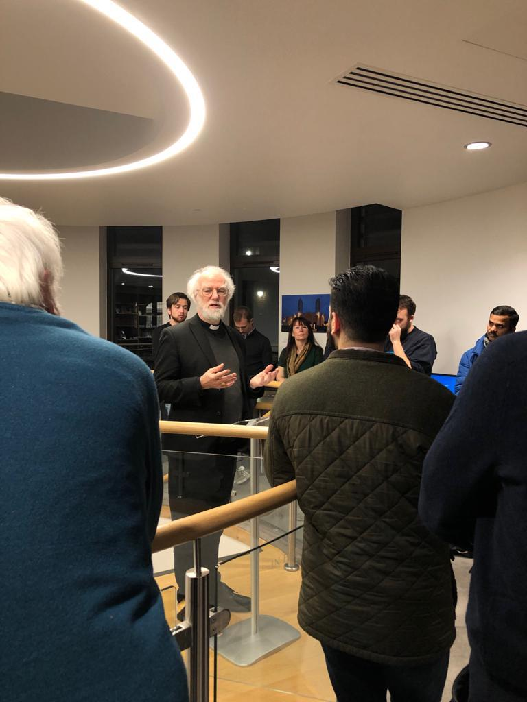 On Monday 10 February 2020, Dr Rowan Williams, Master of Magdalene College & former Archbishop of Canterbury, opened @Woolf_Institute's new photographic exhibition, #Churches as #Spaces of #Encounter and #Challenge.  Details at https://www.woolf.cam.ac.uk/whats-on/news/new-photographic-exhibition-churches-as-spaces-of-encounter-and-challenge…