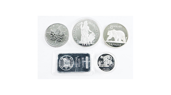 Silver Bullion Lot - (5) Silver Coins, Bar etc https://auction.auctionnetwork.ca/Silver-Bullion-Lot-5-Silver-Coins-Bar-etc_i35940280… - Online Auction Wednesday February 12th, 2020 At 7:00 PM EST. Collector Estates | #Coins, #Banknotes, #Bullion, #Art, #Jewellery, #Sports & More! #OnlineAuction #CoinAuctions #EstateAuction pic.twitter.com/7BW6pBHZ8n