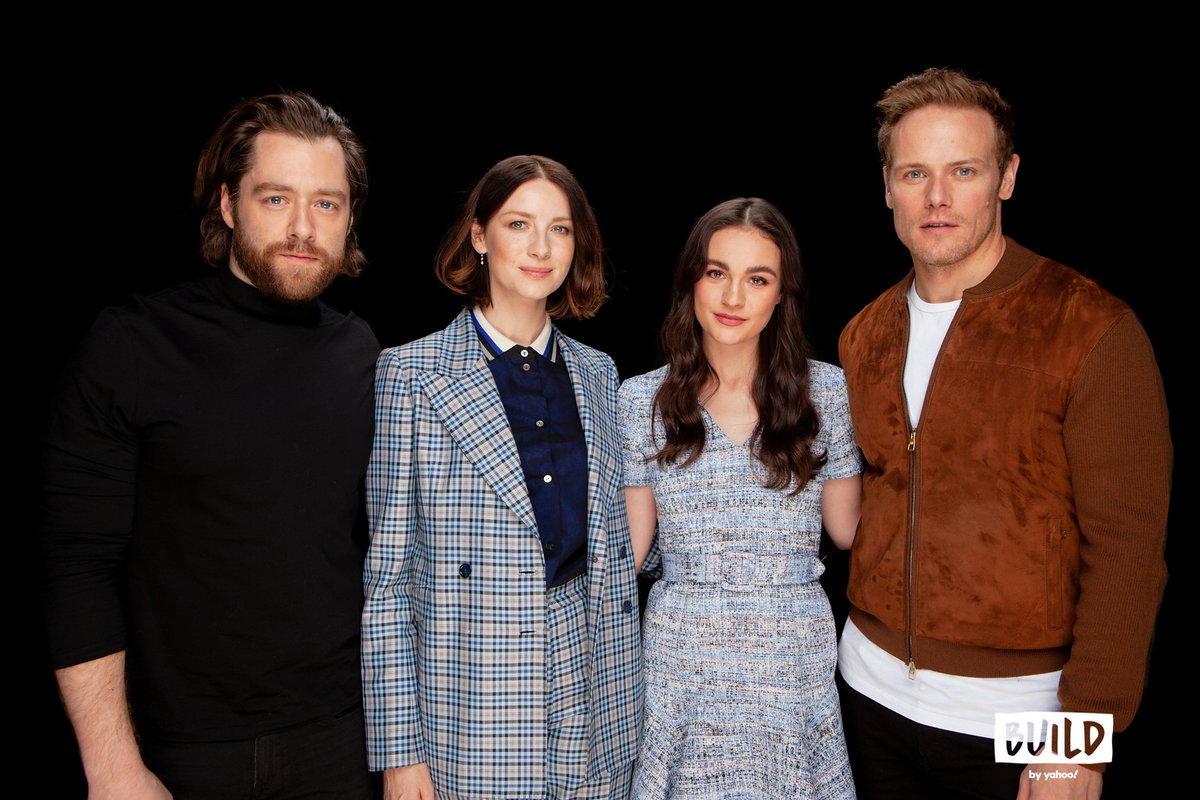 Did you miss our @Outlander_STARZ interview yesterday? Check out the full #BUILDseries talk here: !