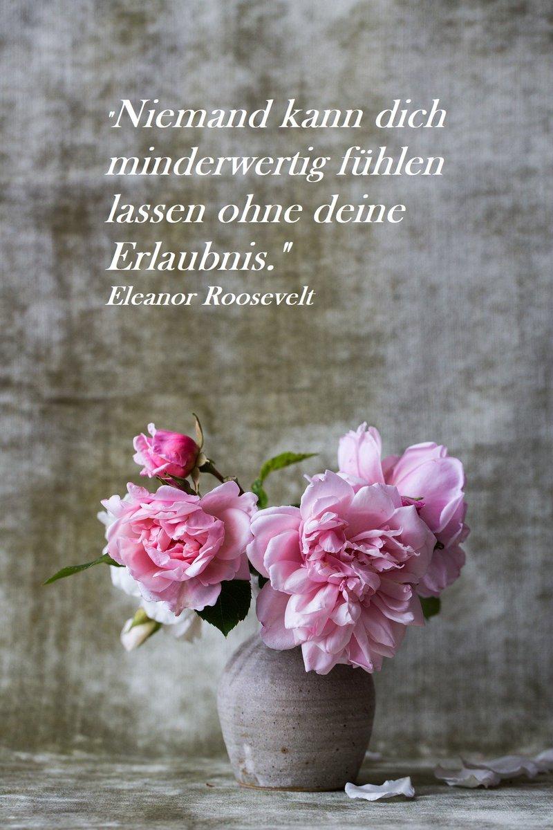 """""""Niemand kann dich minderwertig fühlen lassen ohne deine Erlaubnis."""" Eleanor Roosevelt  #SoSein #mindset #Wertschätzung #Selbstliebe #Gedanken #Gefühle #Veränderung #Loslassen #Transformation #Wandel #LeichtigkeitdesSeins #KörperGeistSeele #Liebe #Herz #tudirwasGutes #Achtsamkeitpic.twitter.com/rST1msgF6m"""