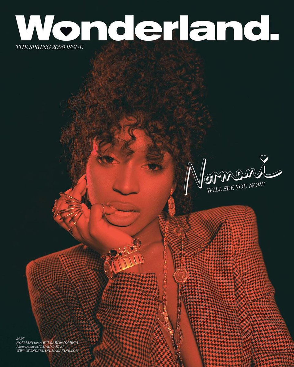 This is a @Normani for @wonderlandmag appreciation post. 🔥🔥🔥