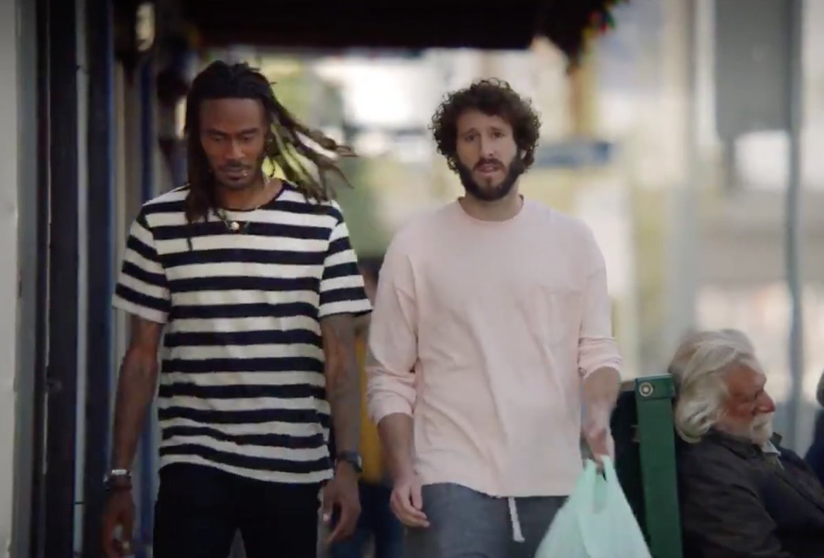 "Lil' Dicky Drops The Trailer For ""DAVE""  https://www. barstoolsports.com/blog/1861404/l il-dicky-aka-the-independent-variable-aka-the-original-pancake-aka-mr-leftward-sloping-penis-aka-the-time-travelers-wife-aka-young-dick-aka-firm-handshake-aka-white-jesus-aka-the-human-bitco   …  <br>http://pic.twitter.com/tGiLGPnrns"
