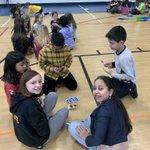 Image for the Tweet beginning: Indoor recess fun! #hmt123 #d123