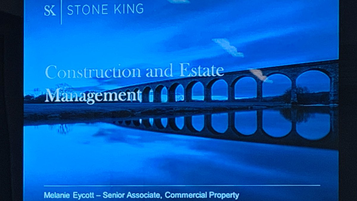 Exellent insight into Estates Management and how to avoid the many pitfalls @StoneKingLLP event today. Good to hear the future plans of the @educationgovuk to support trusts with their long term management of estates. Thank you for inviting us. https://t.co/HkbOGqJtQh