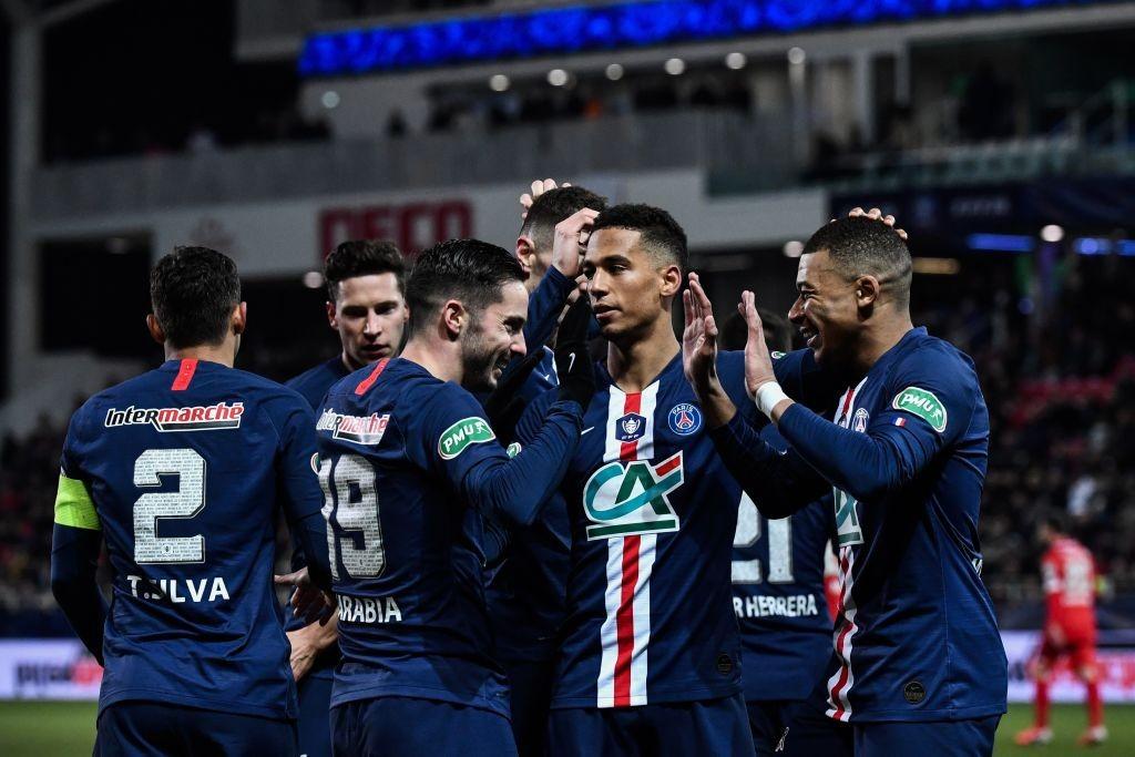 Xem lại Dijon vs PSG Highlights, 13/02/2020