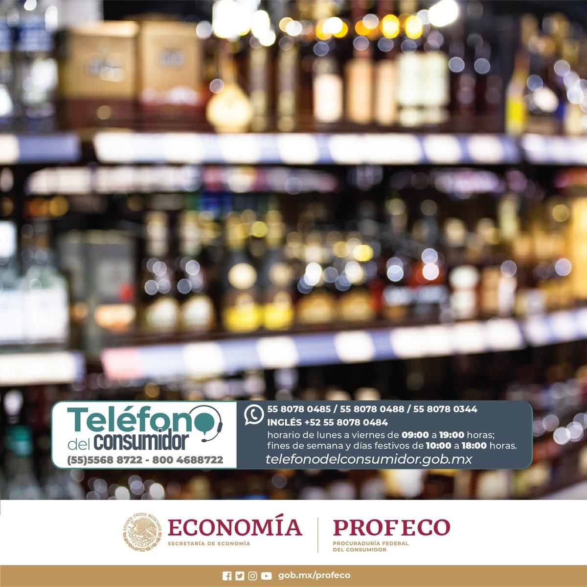 #TipsProfeco Al consumir bebidas alcohólicas, recuerda comprar en establecimientos formales; revisa la botella y su etiquetado; verifica su autenticidad con el código QR que tiene impreso. @SATMX #JuntosContraLaIlegalidad http://juntoscontralailegalidad.mx/inicio/verifica-tu-botella/…