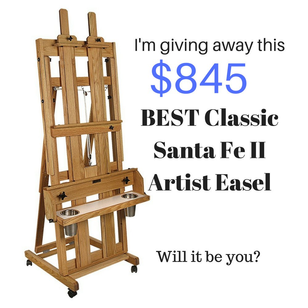 Win this $845 Best Classic Santa Fe II Professional #artist #easel   Click here to WIN:   ReTweet for more chances to win...  #sweepstakes #painting #photography #drawing #sculpture #watercolor #SaatchiArt  #bigartboost #contest @fineartamerica @artsy