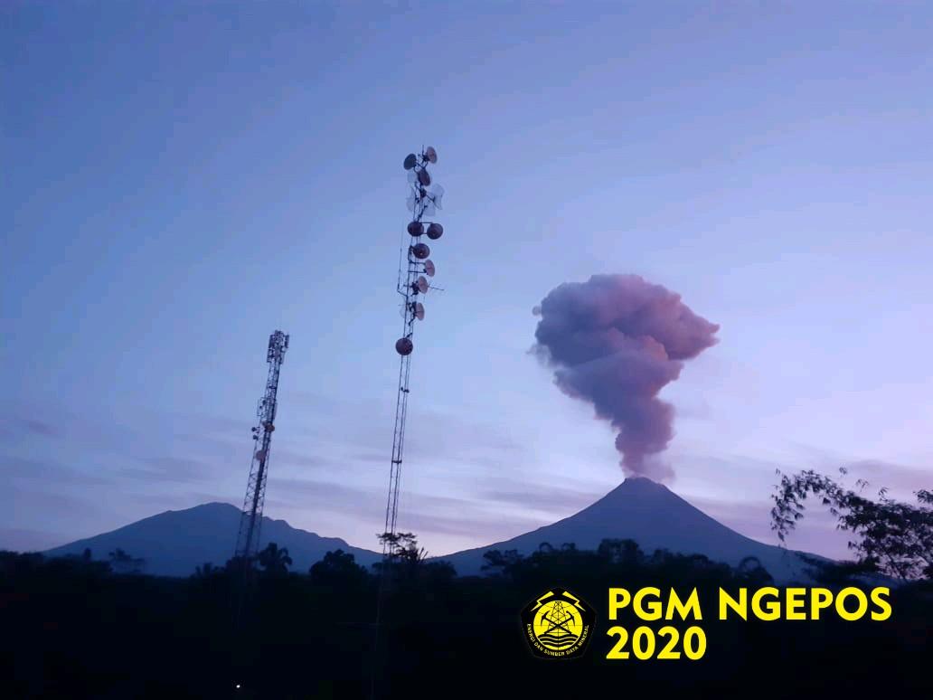 Erupsi Gunung Merapi, Kamis (13/2/2020)