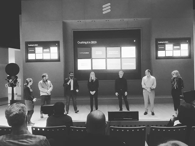 Always great to have our leadership team take center stage to talk about the #ericssonna marketing & communications team crushed it in 2019! #ericssonawesome https://ift.tt/2voEheGpic.twitter.com/Lcld6aKJS3