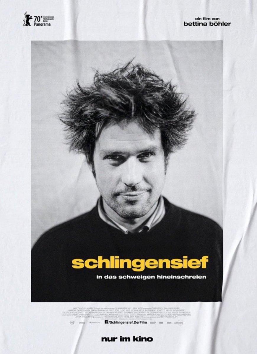 OK! da bin ich jetzt mal richtig stolz dass mein portrait das filmplakat ziert. ich verneige mich vor christoph schlingensief und freue mich auf den film der auf der berlinale premiere feiert. #berlinale #bettinaböhlerpic.twitter.com/wroZ3ammrk