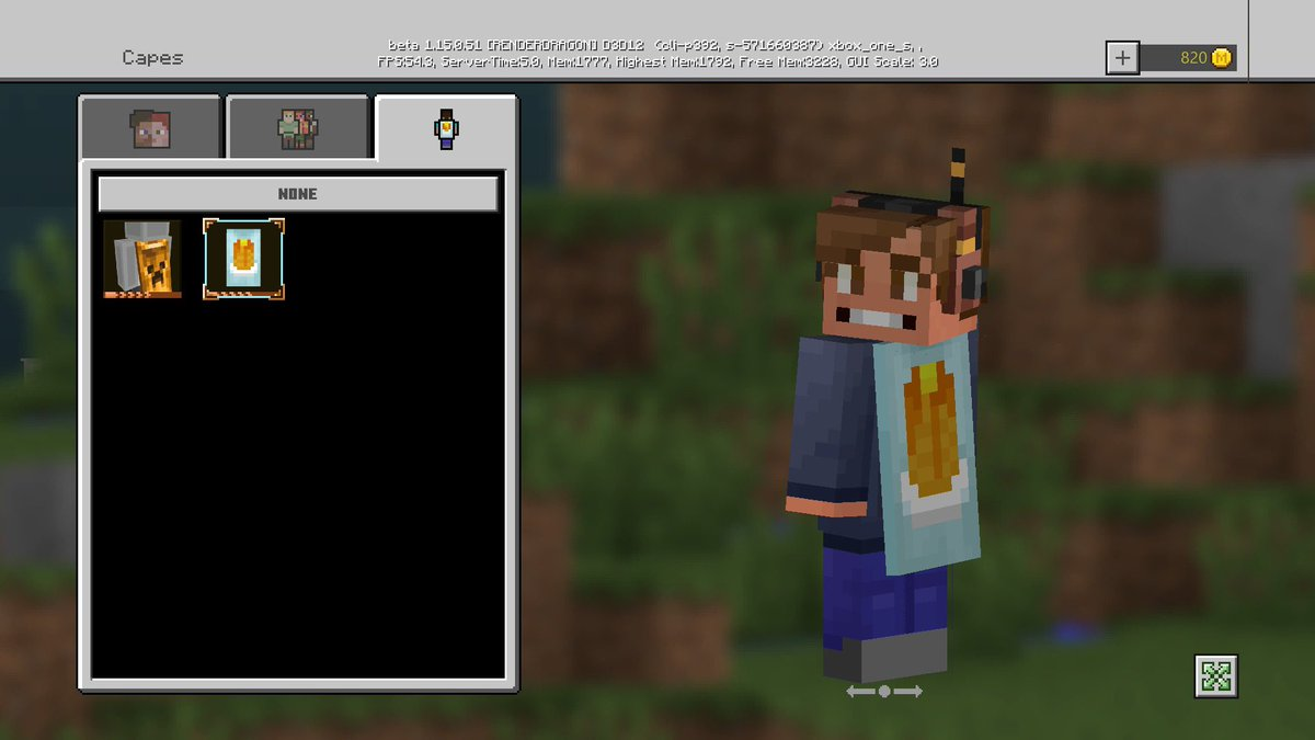 """Minecraft News on Twitter: """"There is also a NEW Cape that exists"""
