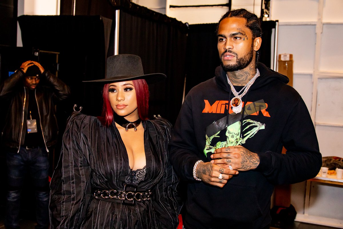 Cyn Santana and Dave East back stage at the Turkish Designers fashion show #NYFW<br>http://pic.twitter.com/BGrgkiThyP