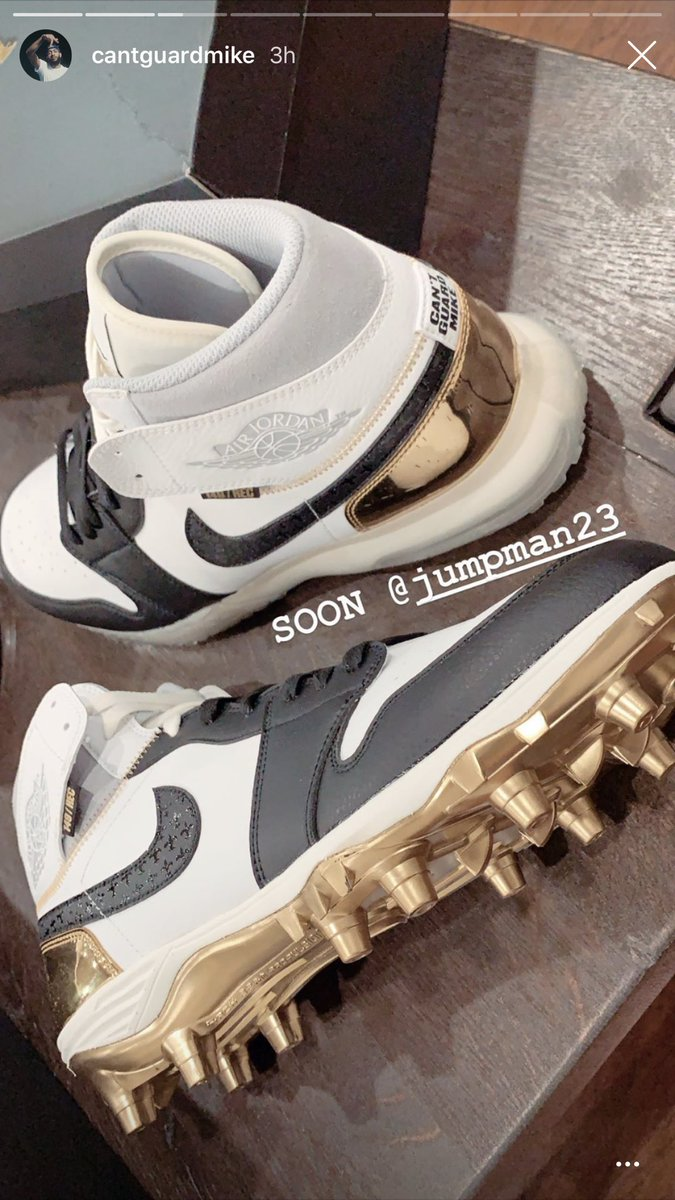 💪 @cantguardmike hinting at some heat coming soon... 👀