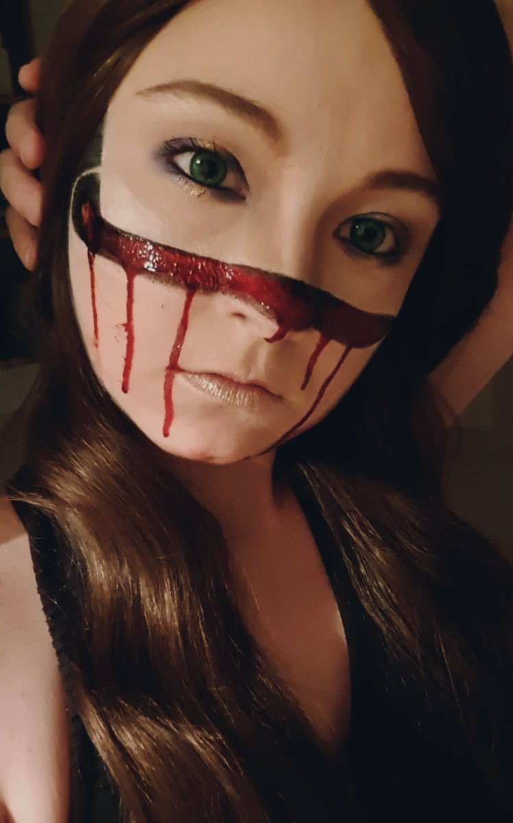 | I'm tired of feeling so numb. Relief exists I found it when....I was cut |  So, today I tryed to create an Illusion without scar wax or latex, just face painting and I thinks it's ok. Not perfect but ok #horrormakeup #facepaint #masks #bloody #gore #makeup #woundspic.twitter.com/TUzvhiCT1f