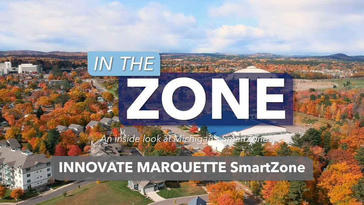 Innovate Marquette (IMQT_SmartZone) is a one-stop shop for #entrepreneurs, offering resources for #UpperPeninsula innovators through its partnership with @InventatNMU.  Join Chad Leisenring for a tour of this Michigan #SmartZone.   https://www.youtube.com/watch?v=zywFee1WZzQ… | #MichiganBusiness pic.twitter.com/djCCQGJoc5