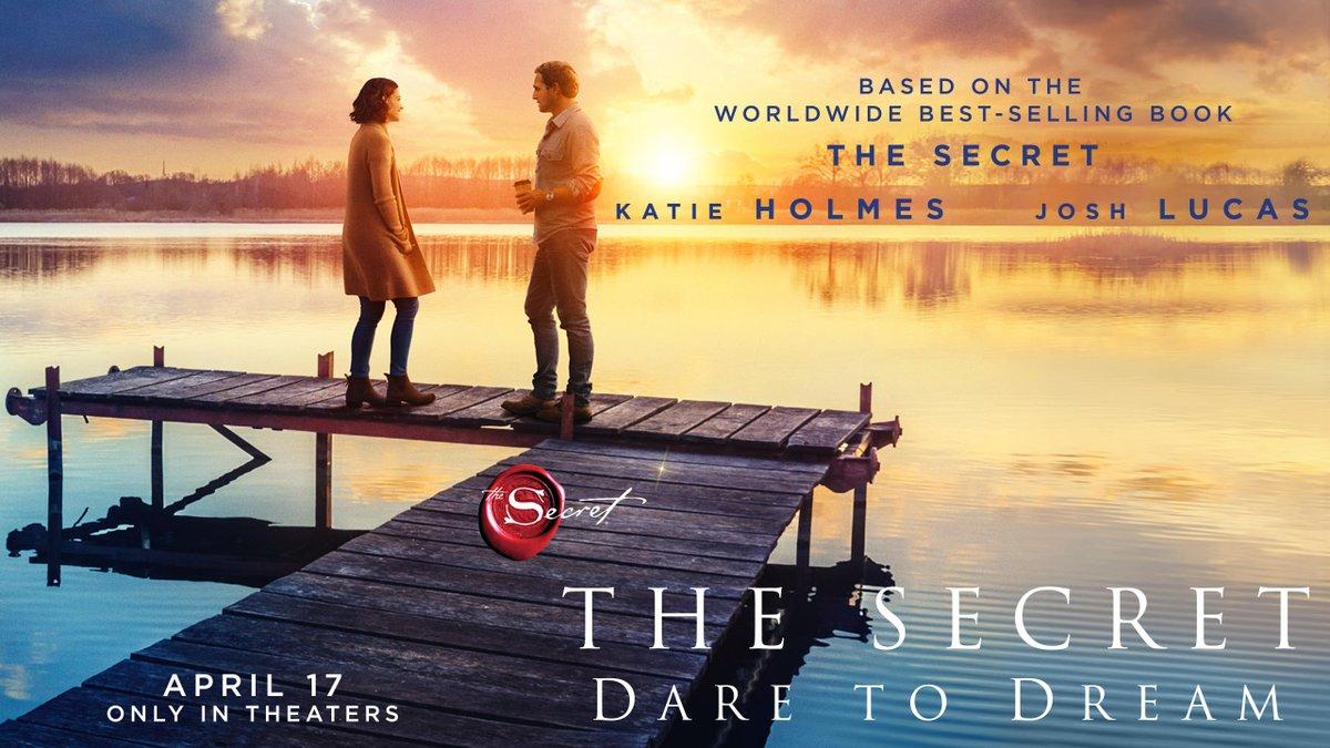 Have you seen the trailer for the new Secret movie yet? #DareToDream @secretdaretodrm