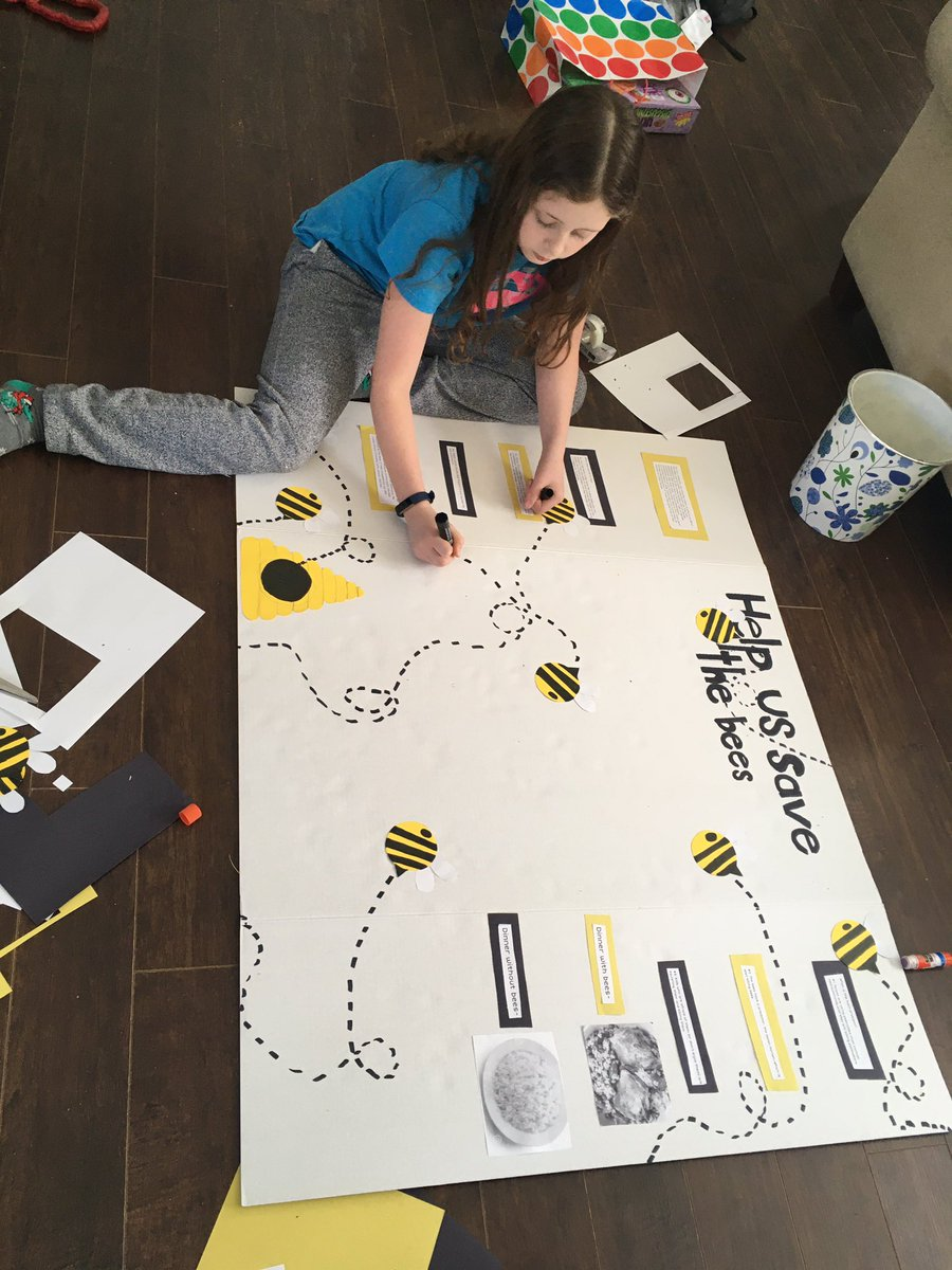 #morganfreeman our 11 year old is working hard to #savethebees  alsopic.twitter.com/gmHrh3v4J7