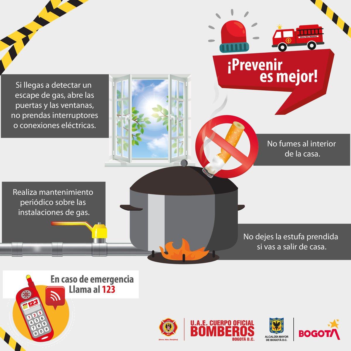 Si un hogar seguro quieres tener, estas recomendaciones debes atender 🚒#PrevenirEsMejor