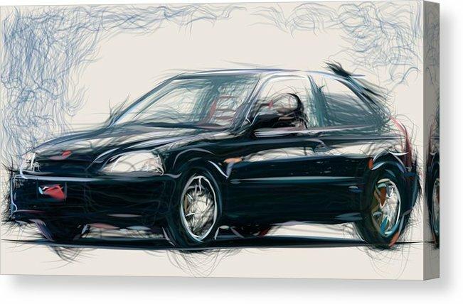Carsstoon Com On Twitter 11 Honda Prelude Draw Carstoon Concept Canvas Print Https T Co Olx2bvuovl