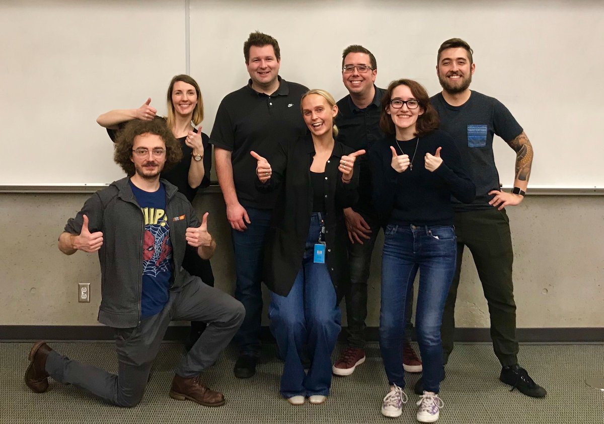 """""""Last week, we headed to the @UBC for an info session & networking event. Since we're kicking off our Summer Canadian Co-Op recruitment season, looking to hire 24 co-ops, it was a great opportunity for us to recruit future talent."""" Program Manager, Brenna. #WeAreEA"""